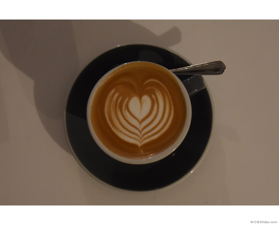 ... made with the El Salvador from Nude Espresso.