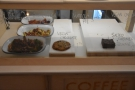 There's also a selection of more traditional cakes.