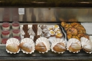 You can also order a cake or pastry to go with your coffee if you like.