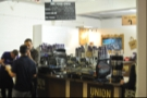 The Union Hand Roasted stand at the London Coffee Festival, which I covered as part of the second Saturday Supplement