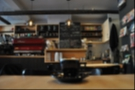 Montreal's neighbour coffee shop, Cafe Plume