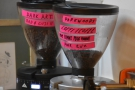 ... with the Siop Shop houseblend (Coffi/Coffee) and a guest (from Dark Arts).