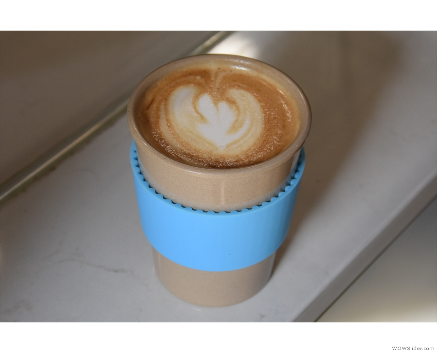Another lovely flat white.