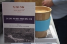 Reusable cups aren't just for caffeine. Here my Eco To Go Cup tries some decaf...