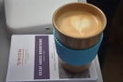 ... from Union Hand-roasted (again at the Glasgow Coffee Festival).