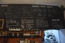 Now it has a 'know your coffee' section, a description of the different coffee drinks...
