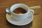 In previous years, I'd made good use of the espresso machine. I had a ristretto in 2013...