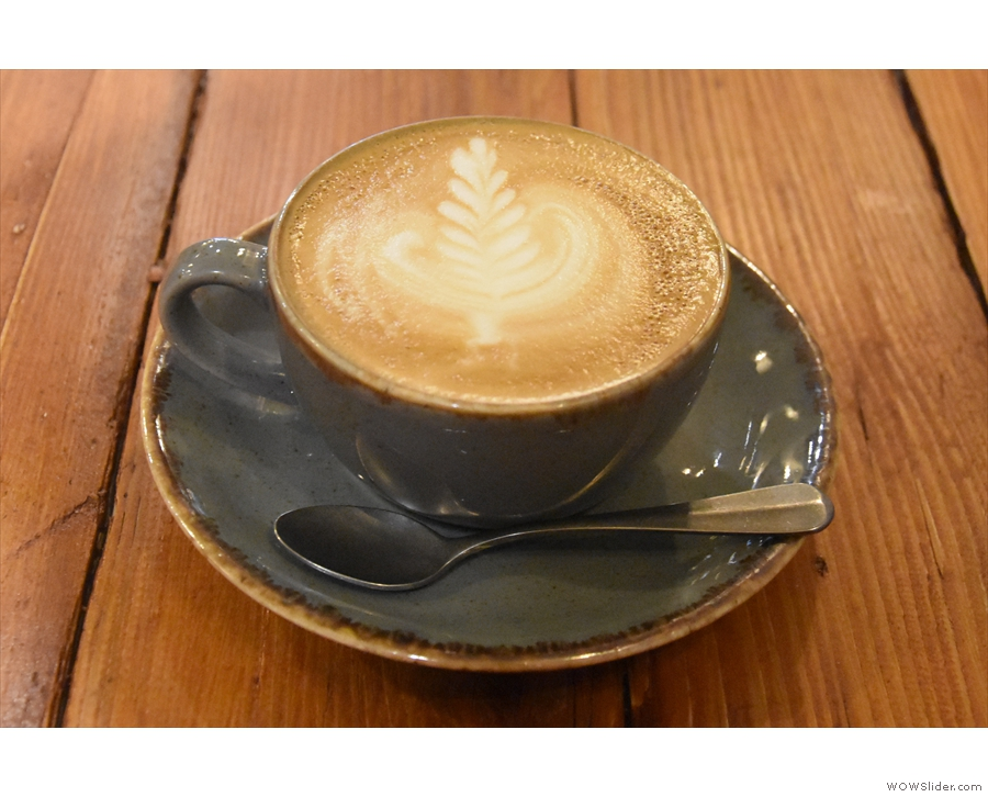 I followed that up with a decaf flat white.