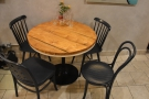 ... and this four-person table in particular.