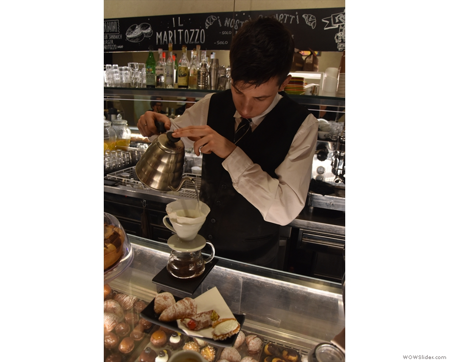 We were so impressed that the next day we ordered another pour-over...