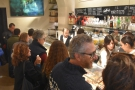 You'd usually find me (and my friend Amanda) here at the counter...
