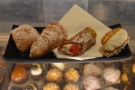 ... which we enjoyed with a selection of pastries...