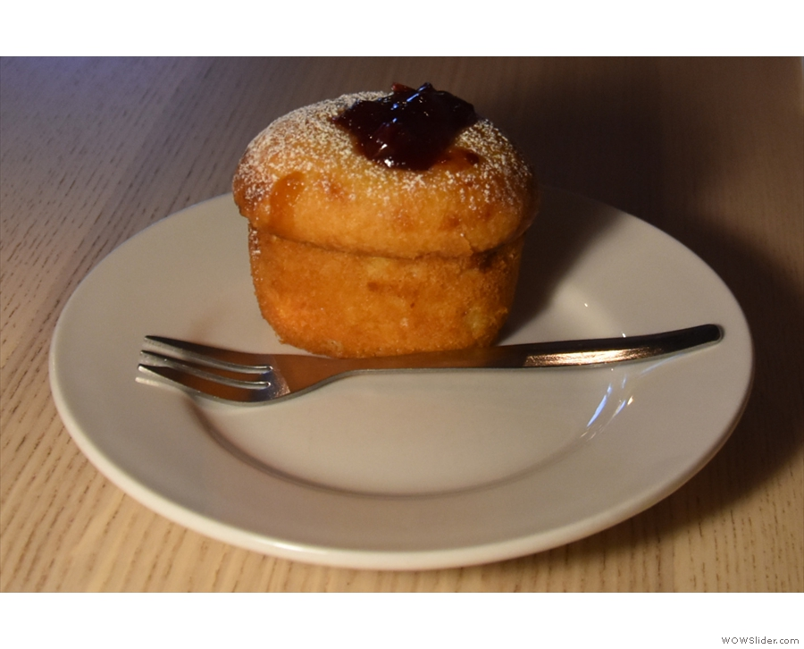 However, I'll leave you with my Victoria Sponge Friand, a queen amongst cakes.