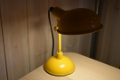 However, I was very taken by this bright yellow desk lamp...