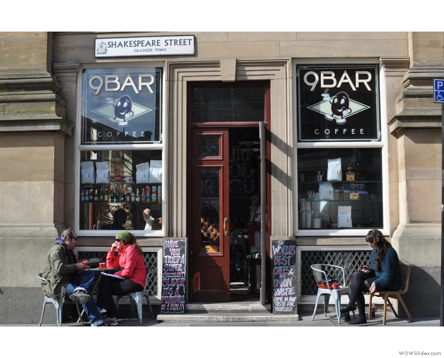 The home of the world's finest cheese toastie, Newcastle's 9Bar