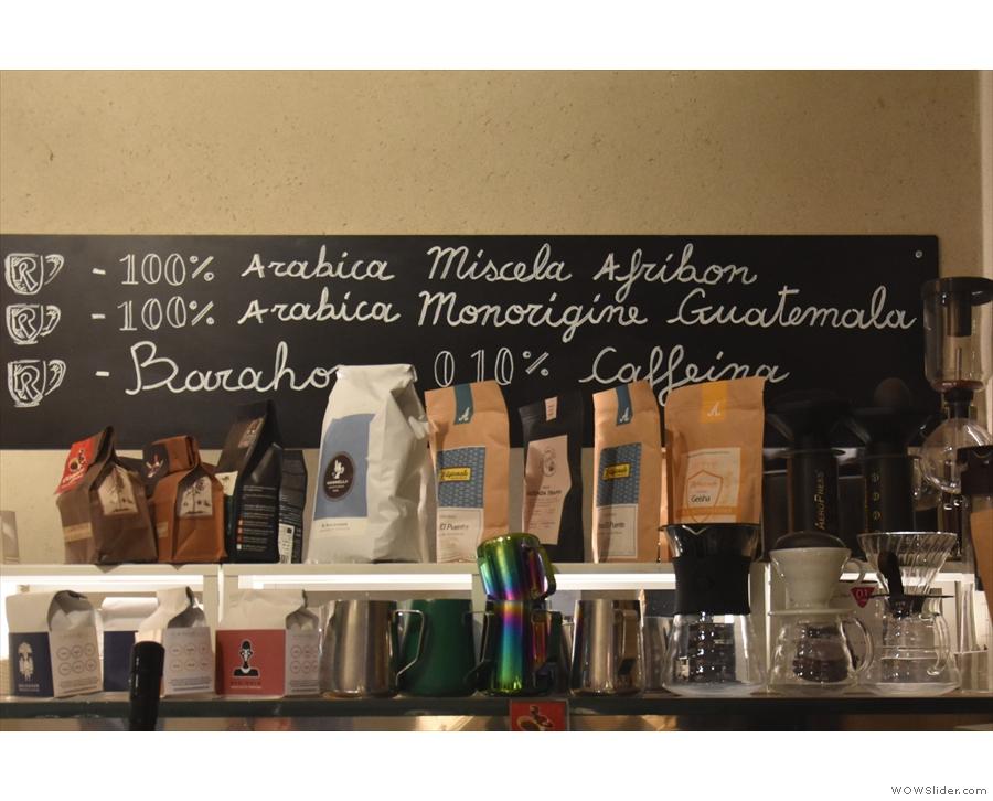 November: all the coffee and all the toys at Roscioli Caffè Pasticceria in Rome.