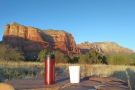 Cover: I take my coffee to all the best places! This year, Red Rock Country, Arizona.