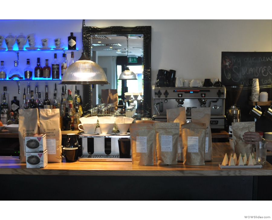 Back home in Guildford, Bar Des Arts launched its new coffee menu. Naturally, I was there.