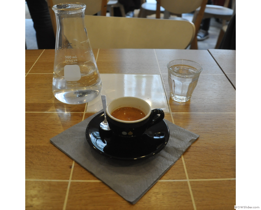 September also saw the Coffee Spot back in Paris at cafe/roaster, Coutume