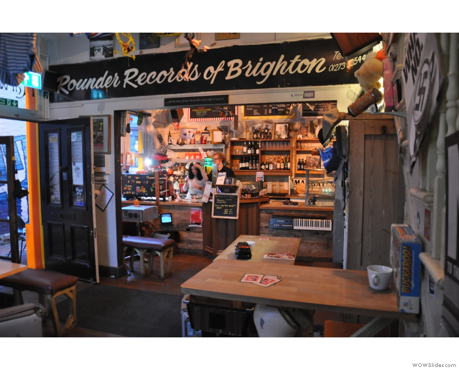 September also saw the Coffee Spot's first trip to Brighton and the off-the-wall The Marwood