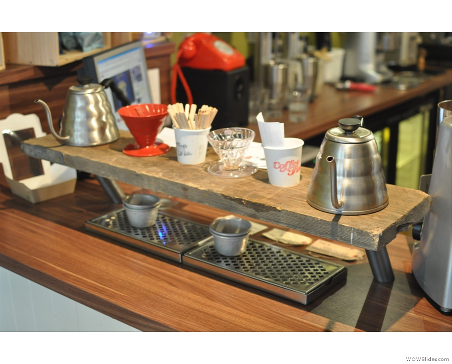So, what to have? Something from the brew bar?