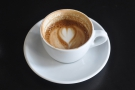 Always a good sign if the latte art survives the effects of drinking :-)
