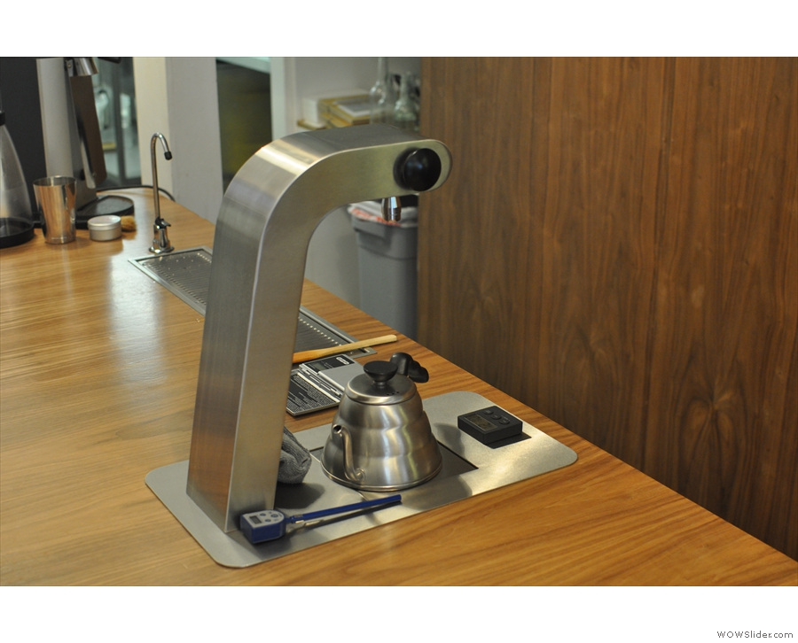 The brew bar, at the end of the counter, is worth a second look.