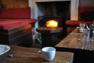 December: keeping snug in the Mooch at Artisan Roast