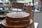 There's cake (Victoria Sponge)...