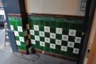 And these tiles on the way in.