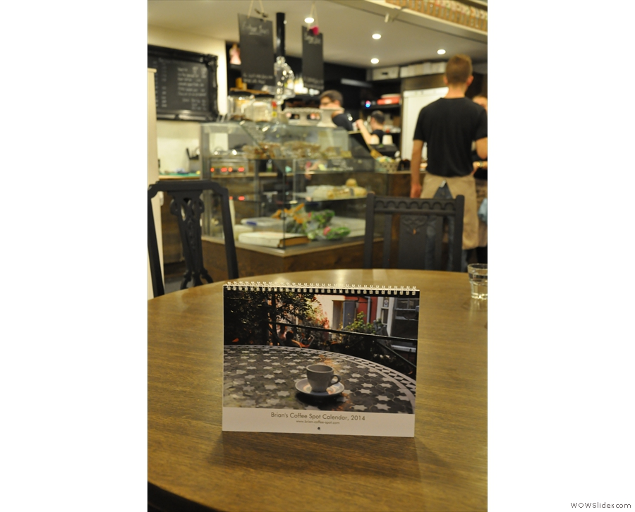The Calendar visits Everbean in Mayfair.