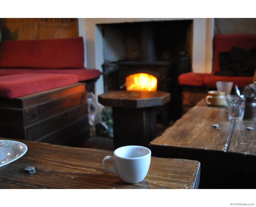 December: keeping snug in the Mooch at Edinburgh's Artisan Roast