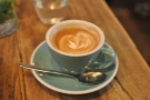 My excellent flat white.