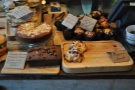 Nice cake selection, although I was there for brunch.