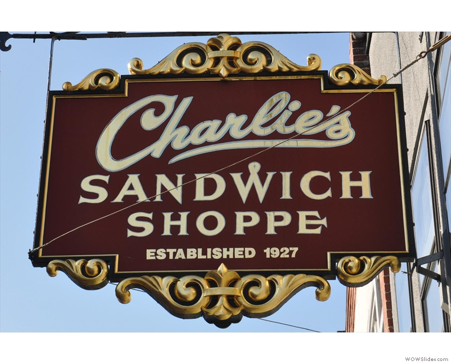 Charlie's Sandwich Shoppe, the place for breakfast in Boston