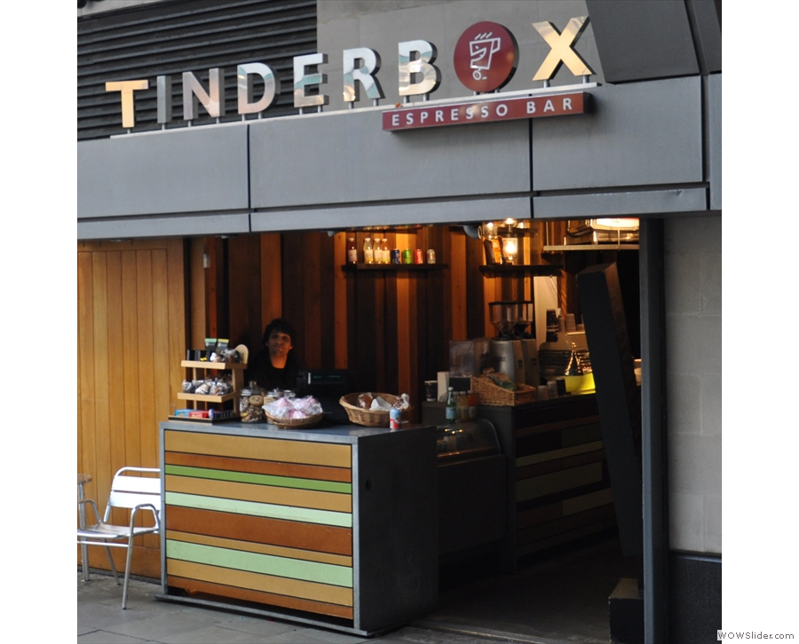 Tinderbox, Islington, still one of my all-time favourites