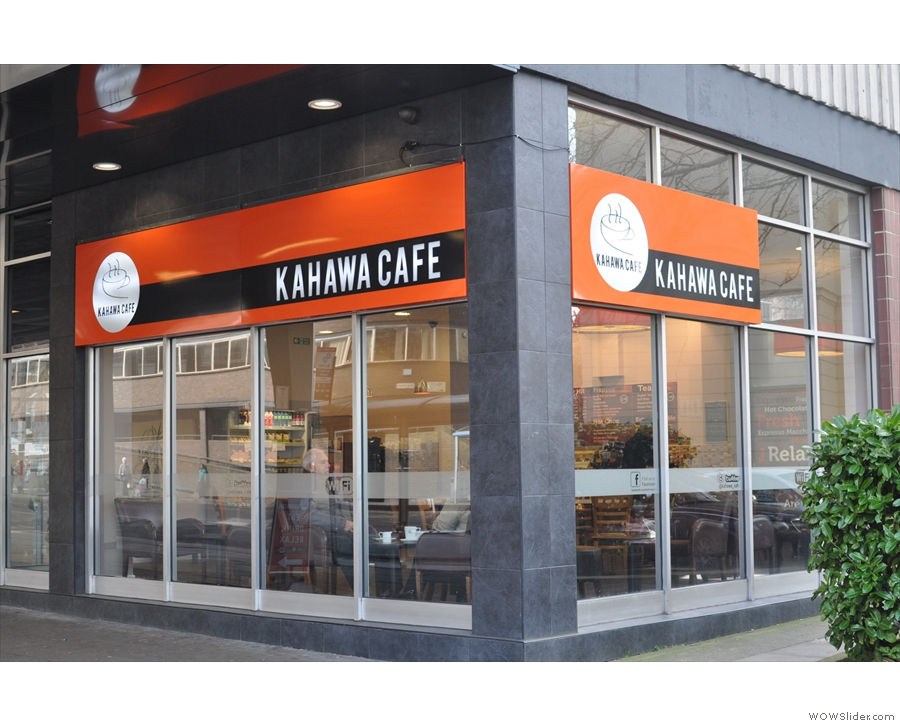 Kahawa Cafe in Coventry, a classic coffee shop if ever there was one