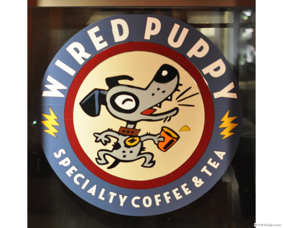 Wired Puppy in Boston, serving me my best espresso of my North American trip