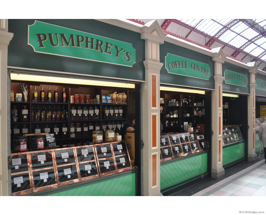 Pumphrey's Brewing Emporium, Grainger Market, Newcastle