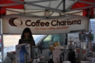 Coffee Charisma on Guildford's North Street Market