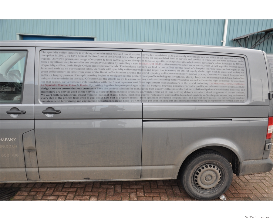 Mind you, if you have a fleet of vans, why not use them to get your message across?
