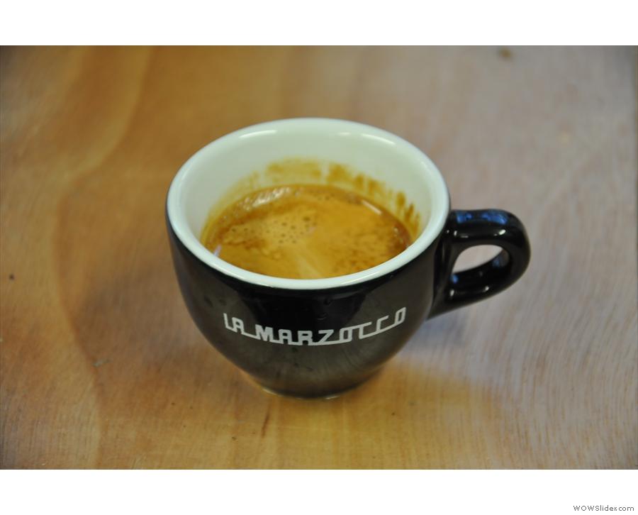 Nice cup. Nice coffee.