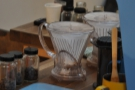 And finally, the brew bar.