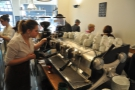 Barista Natalie puts it through its paces, while admitting she'd like the Synesso back!