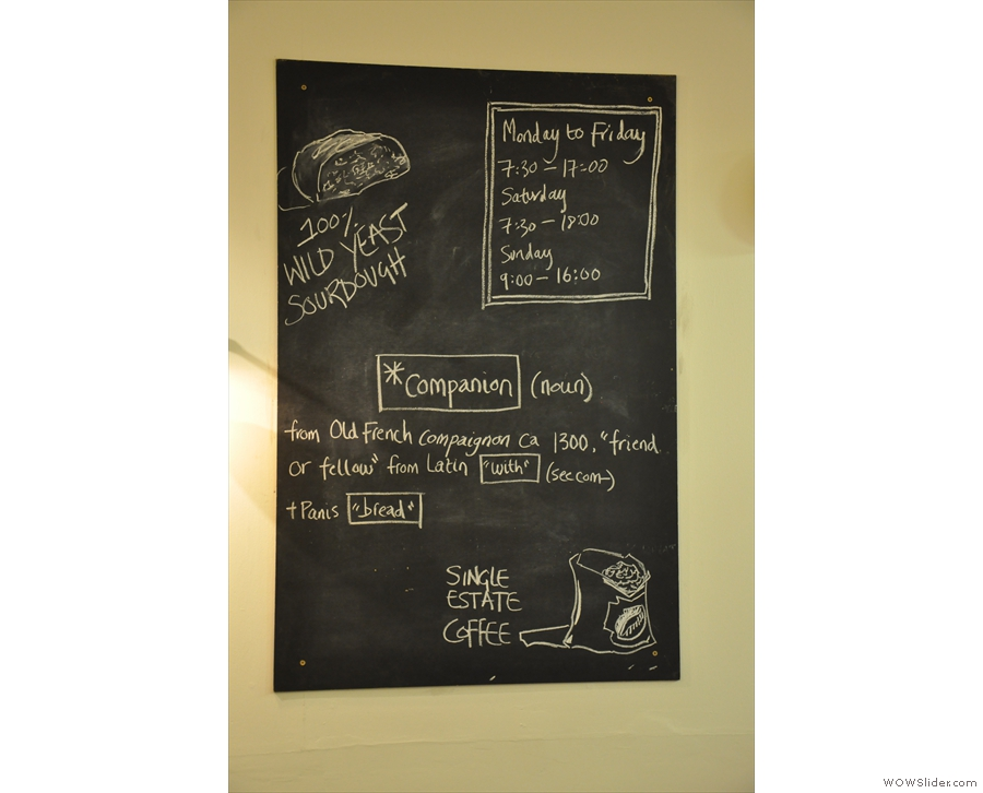 And this 'Companion Cafe' thing? What's that all about? Oh, well, that explains it...