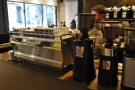 ... before moving onto espresso, made on this shiny Synesso.