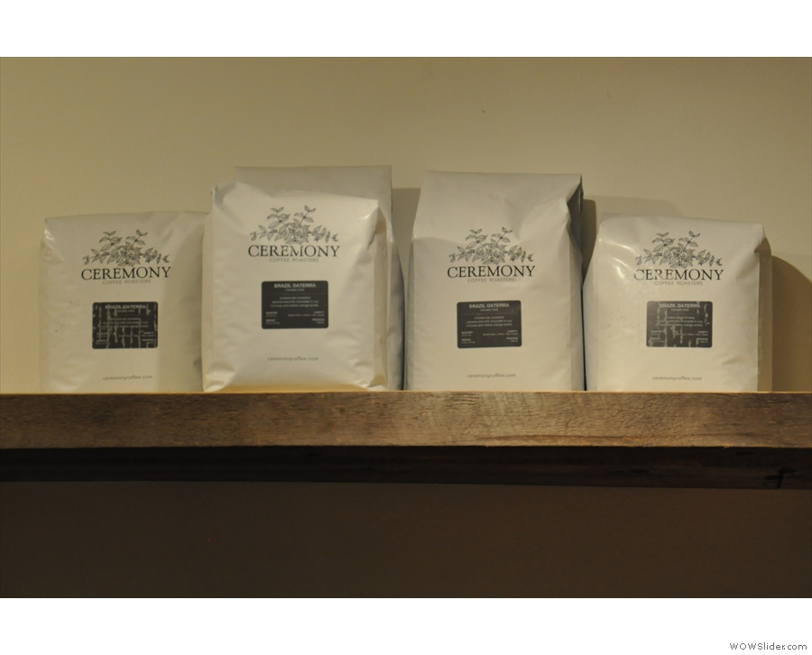 While Ceremony provide some of the single-origin pour-overs.