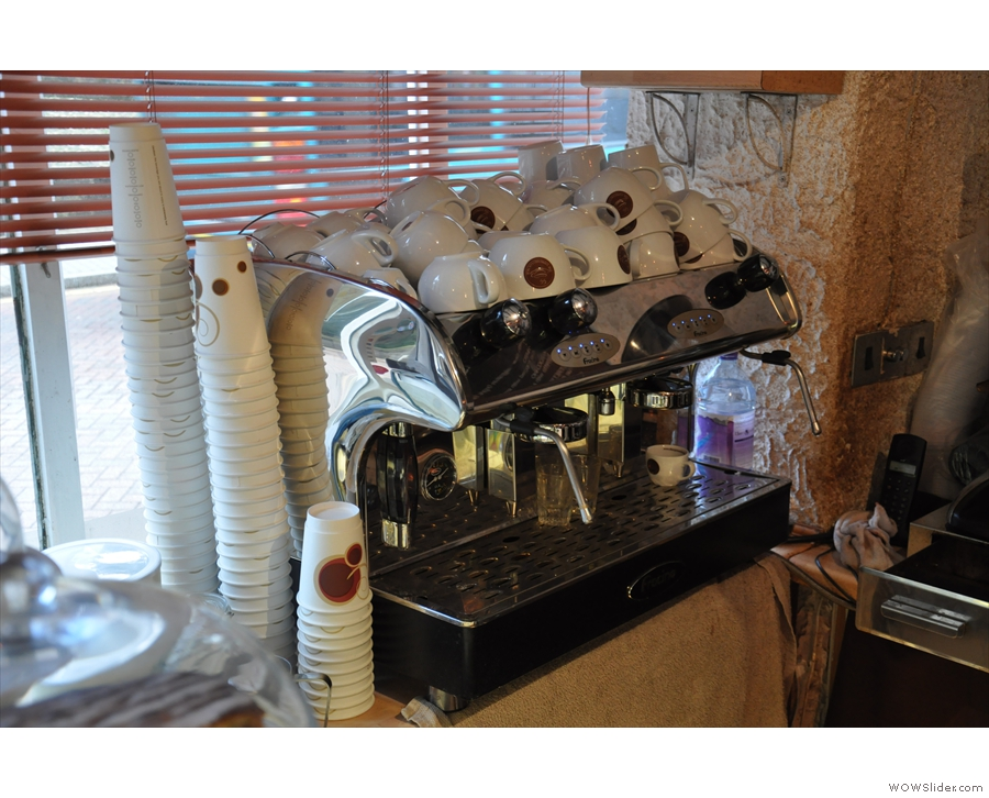 However, I went for the espresso machine this time...