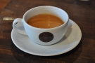 ... and was rewarded with this old-school double espresso.