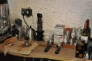 ... which are all meant for the brew bar at the back.